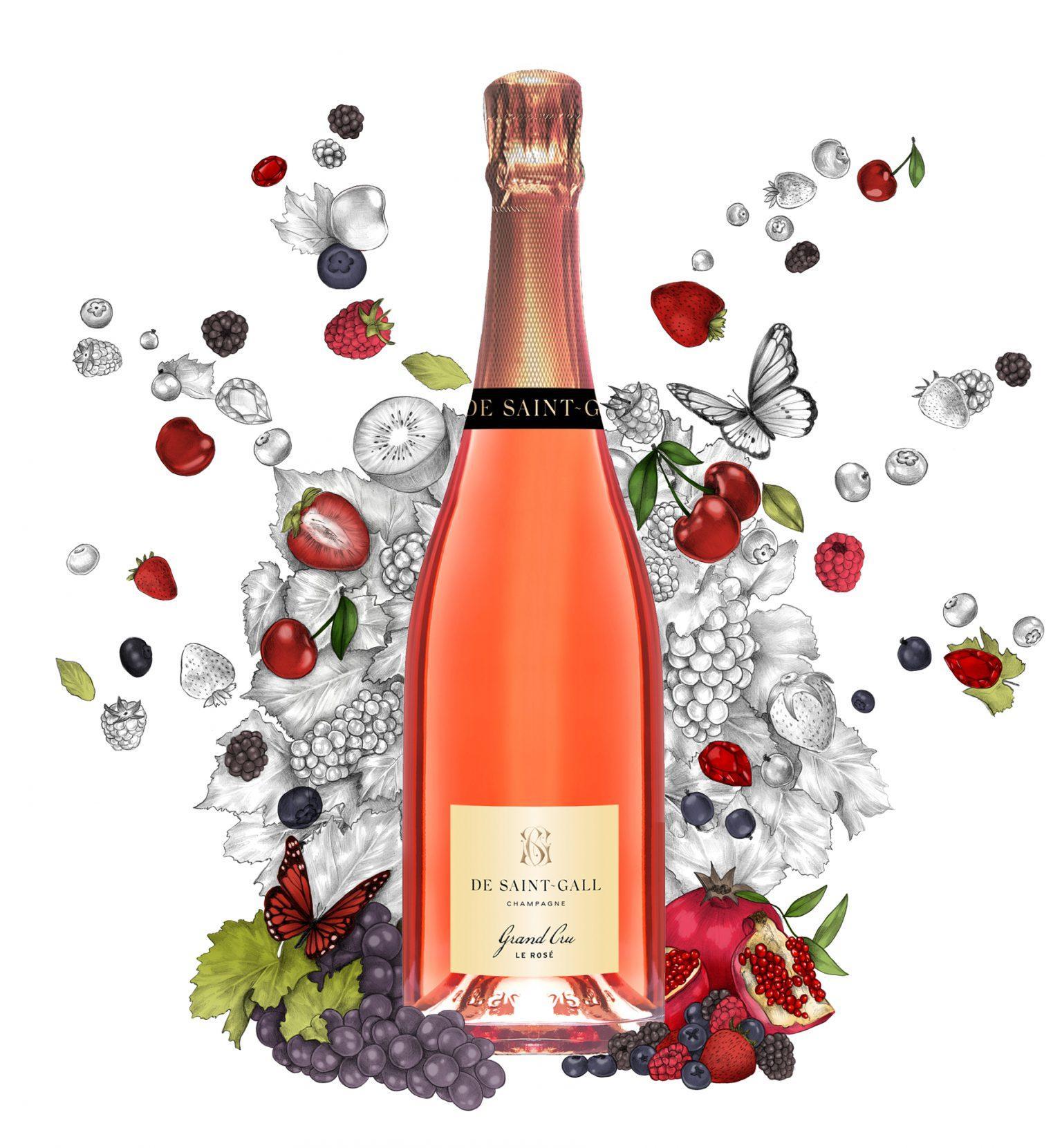 Champagne Rosé Grand Cru Pinot Noir