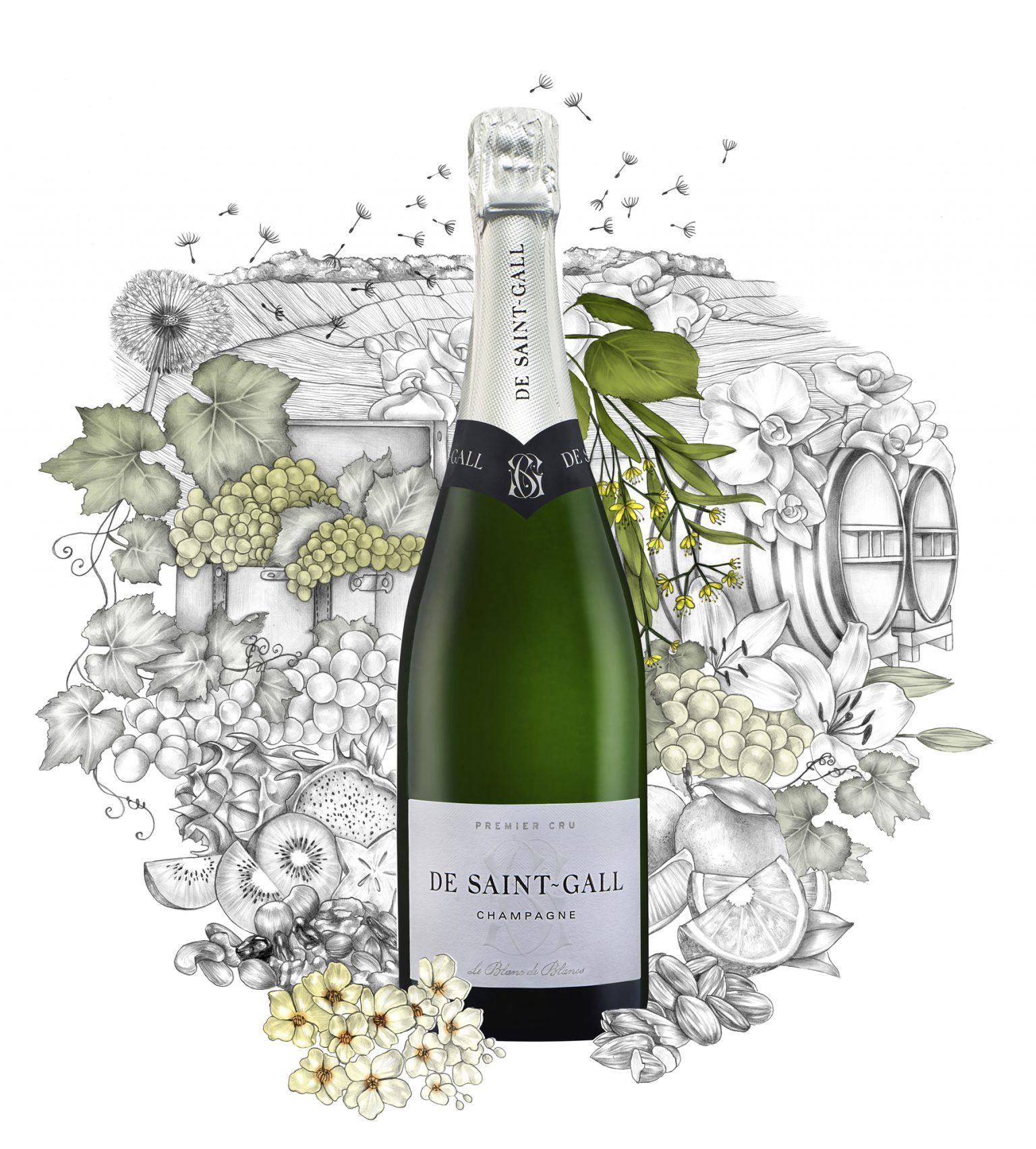Champagne Blanc de Blancs Premier Cru