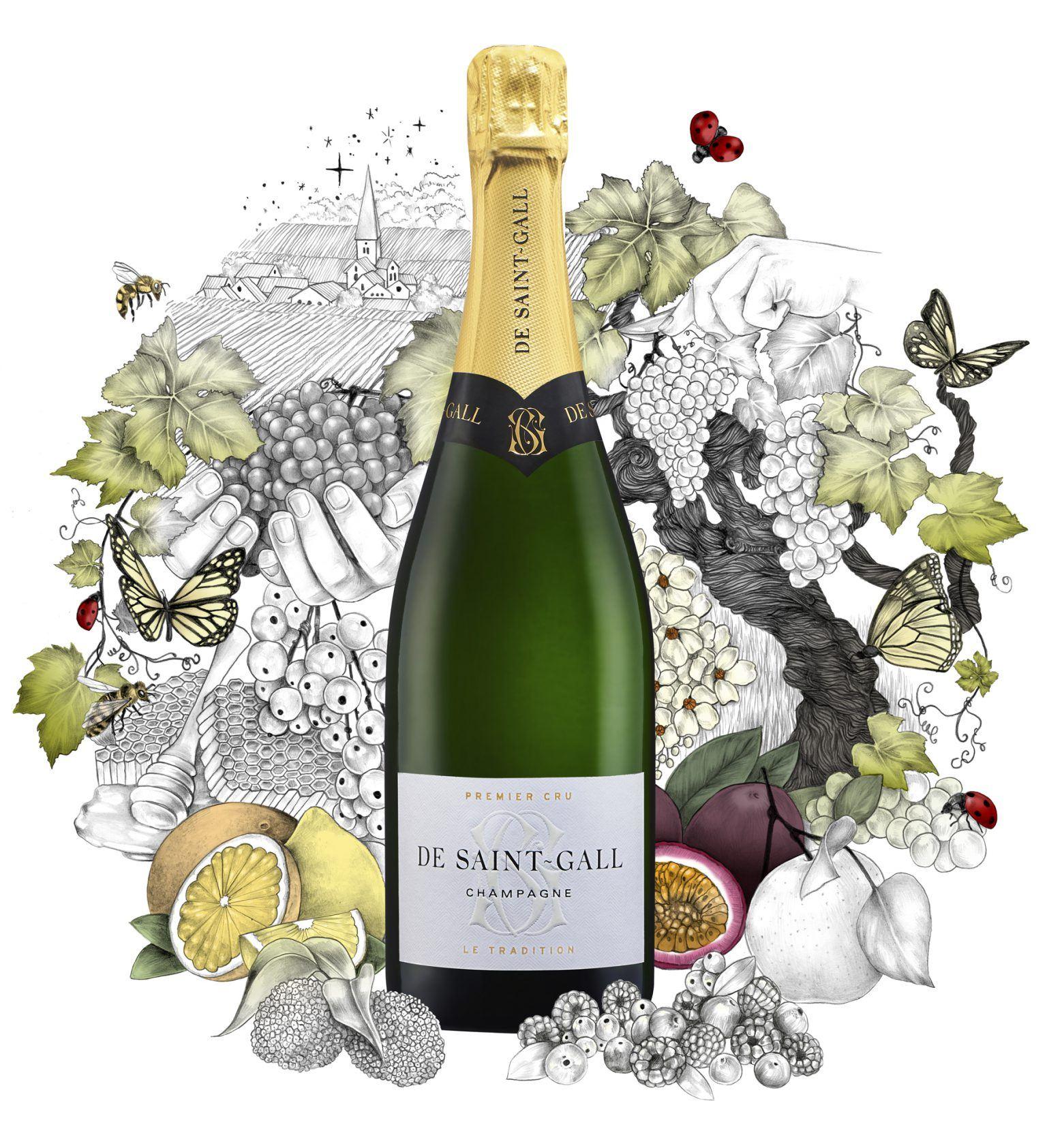 Champagne Premier Cru Le Tradition