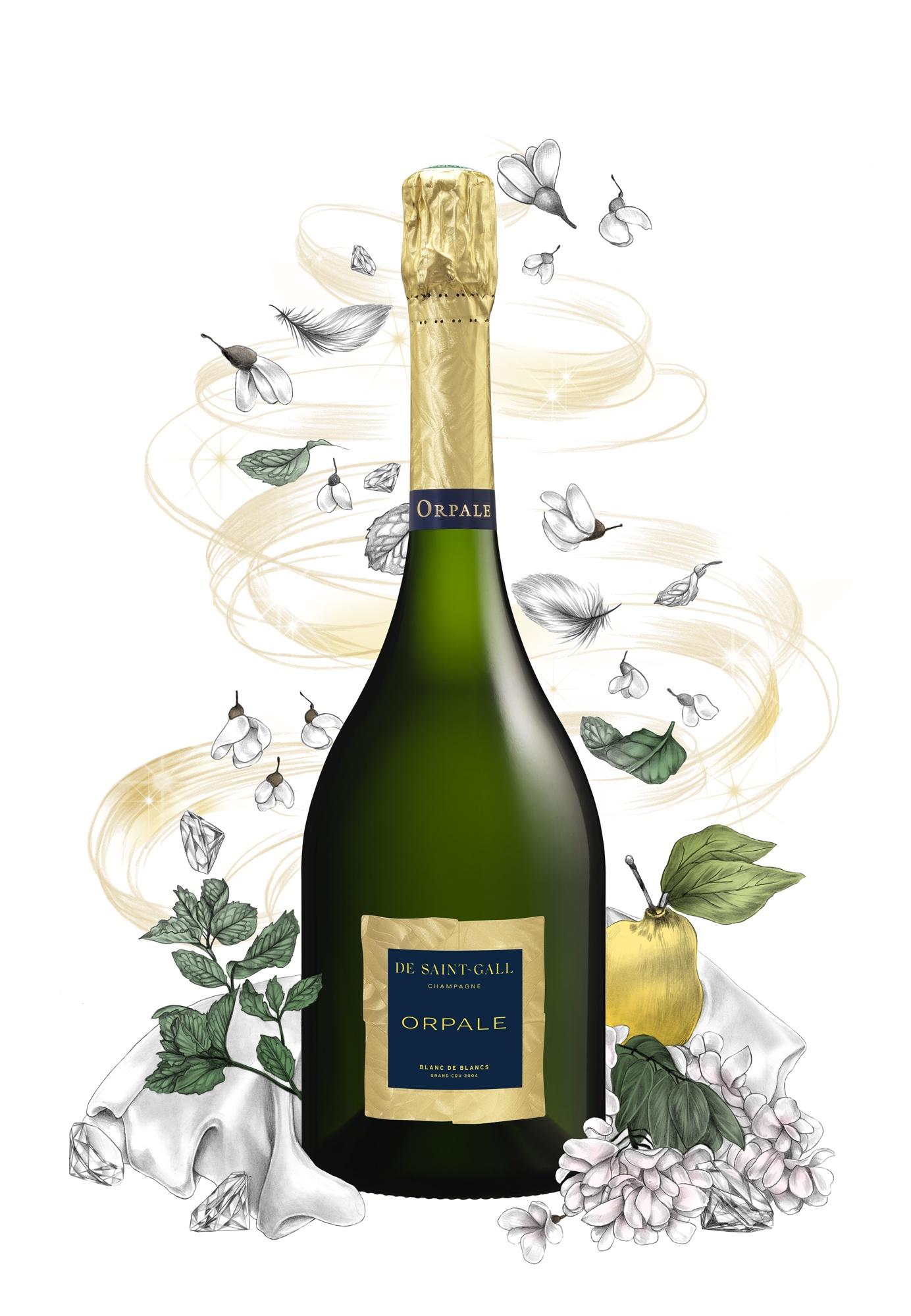 Champagne Millésime De Saint-Gall Orpale