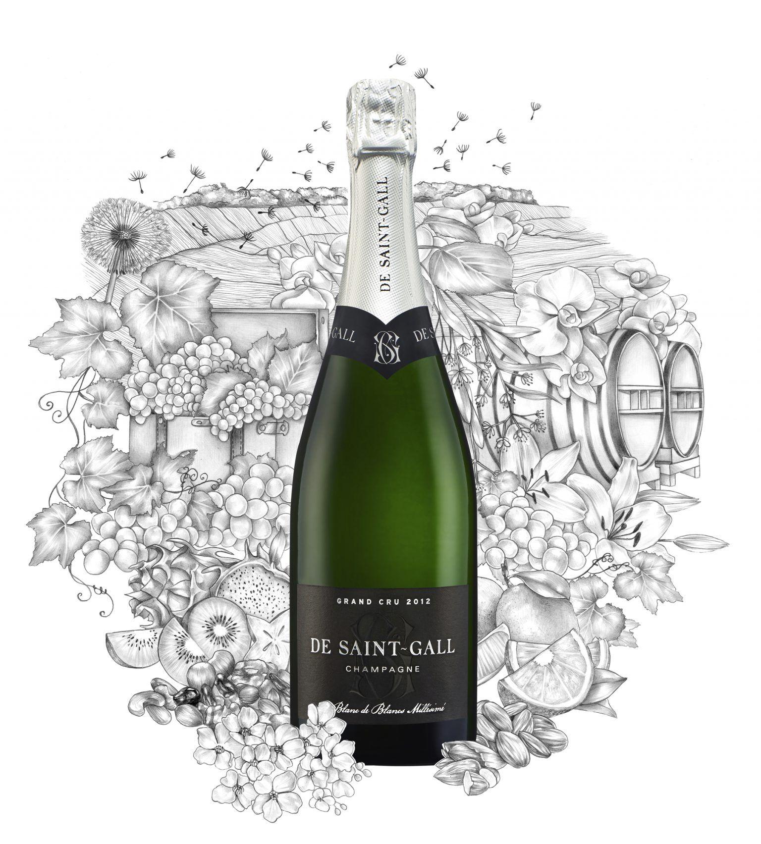 Champagne Blanc de Blancs Millésimé