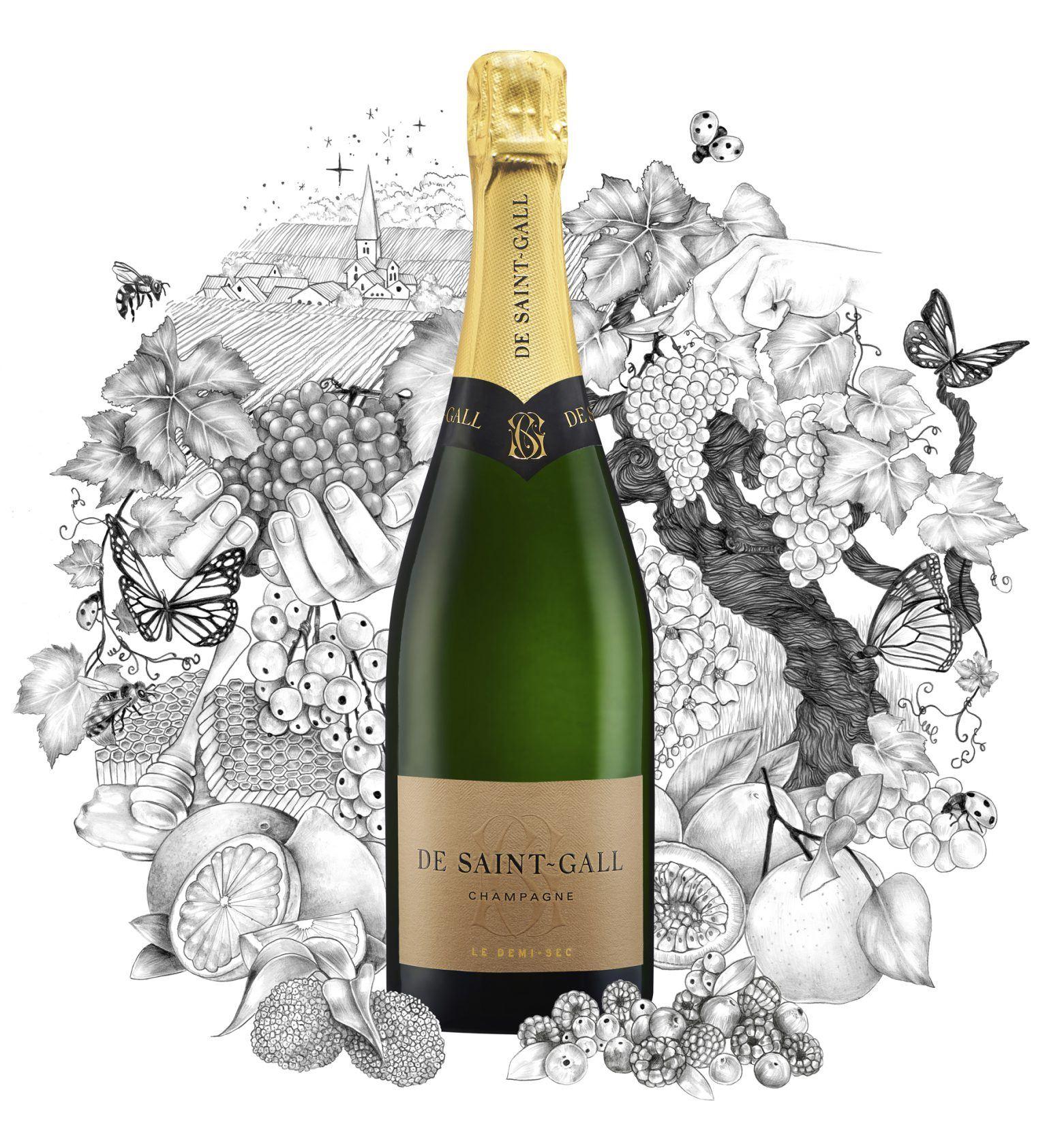 Champagne Demi-Sec De Saint-Gall