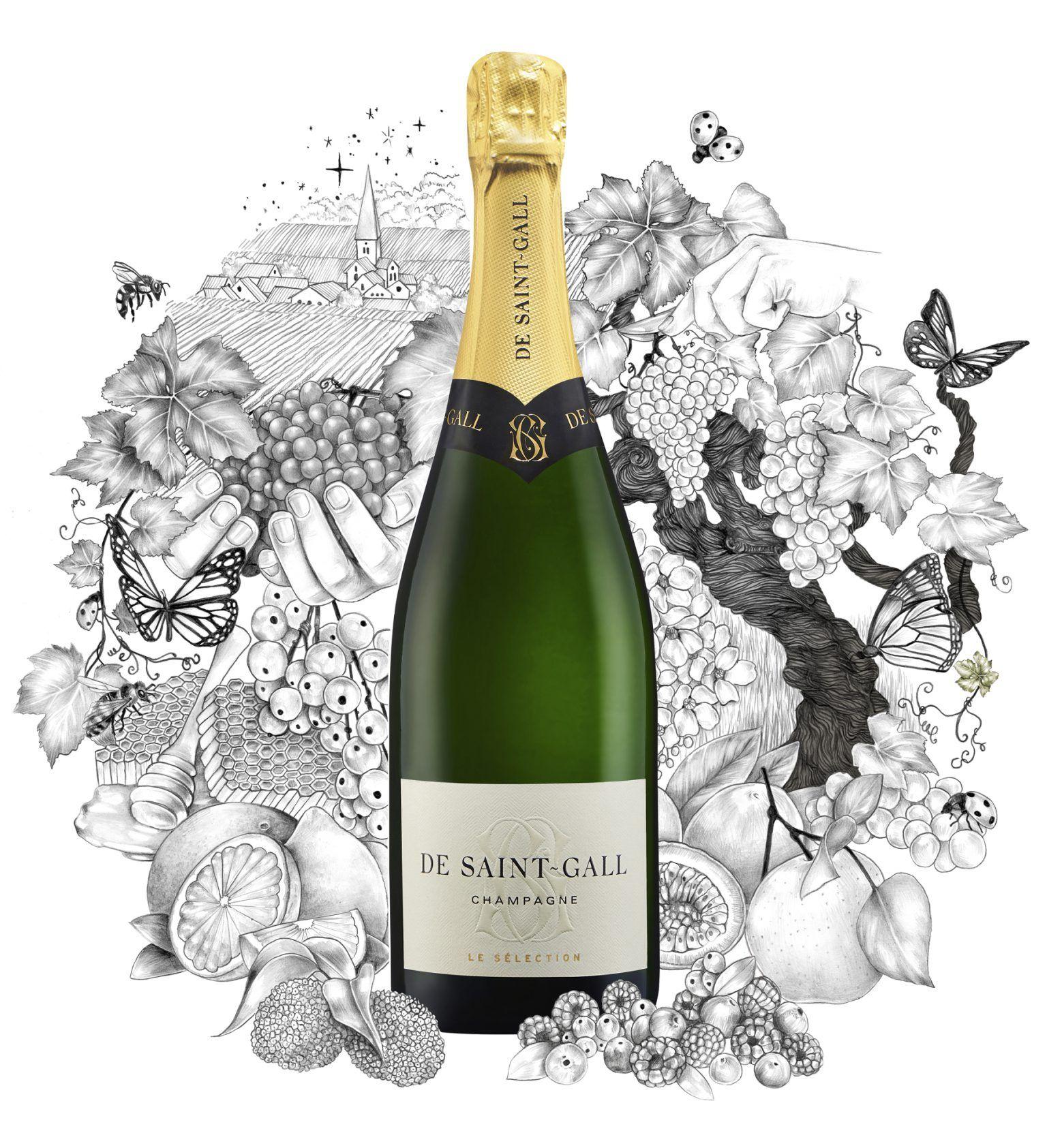 Champagne frais Le Sélection De Saint-Gall