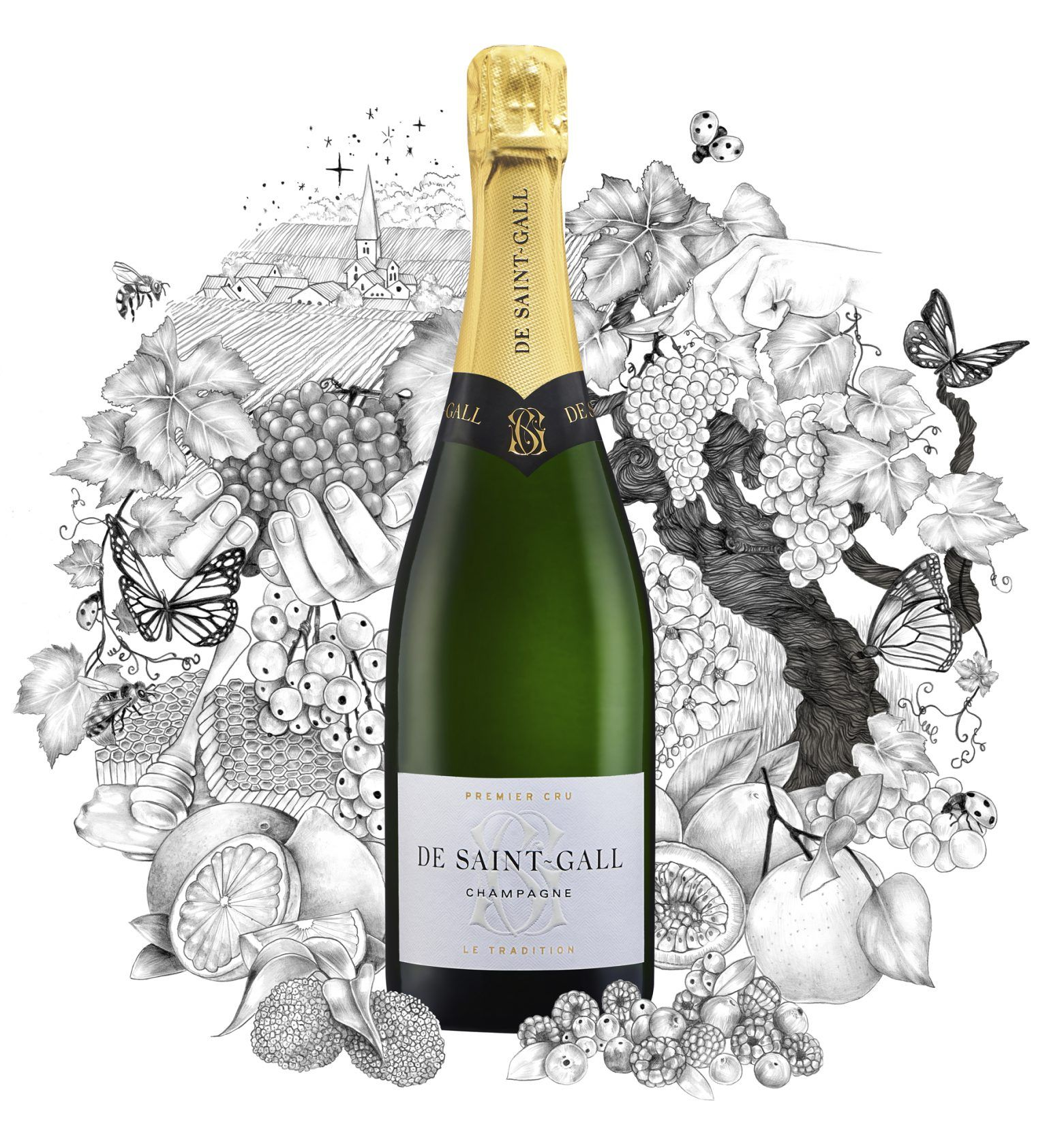 Champagne Premier Cru De Saint-Gall