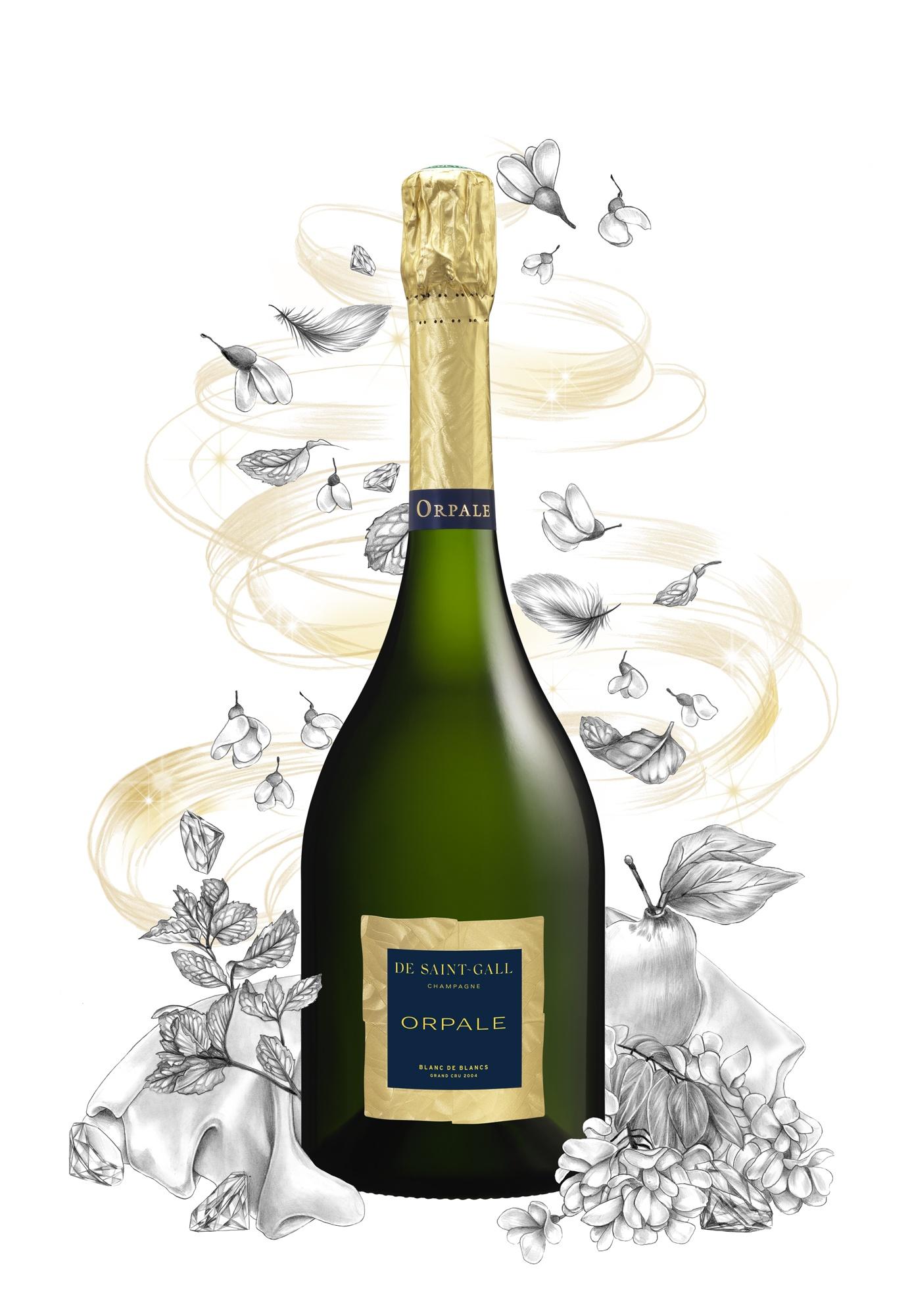 Champagne Millésimé Cuvée Orpale